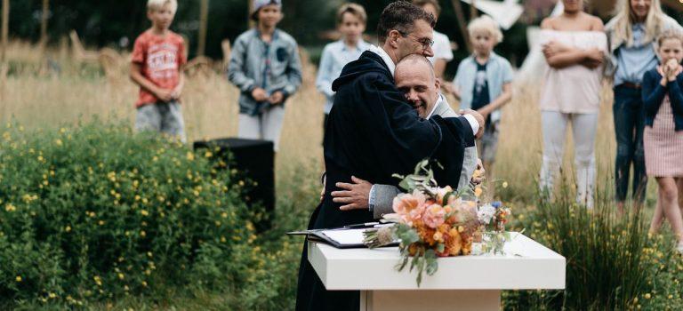 Mijn eerste huwelijk als zelfstandig trouwambtenaar